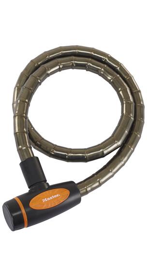 Masterlock 8228 PanzR Kabelschloss 18 mm x 1.000 mm dunkelgrau